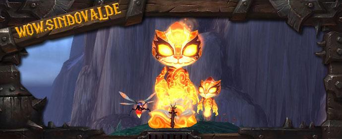Brennender Pandarengeist